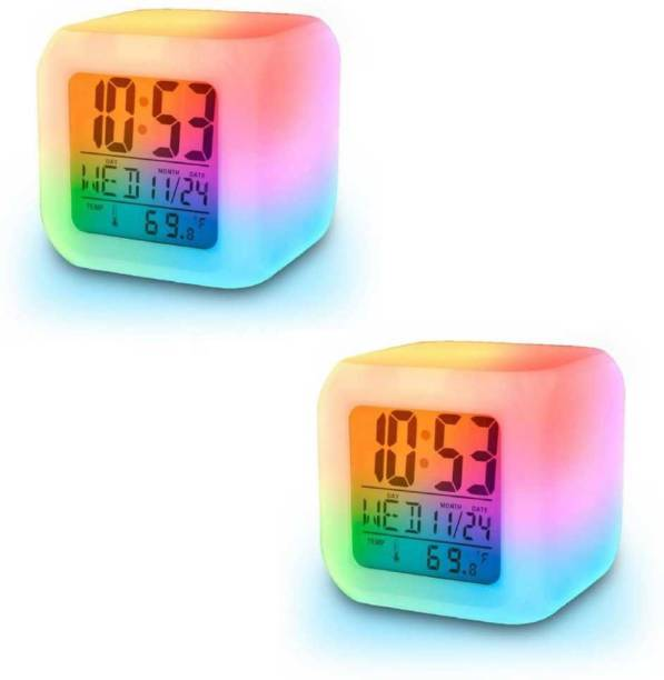 baluda Digital Multicolor Clock