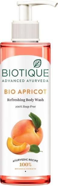 BIOTIQUE Bio Apricot Body Wash