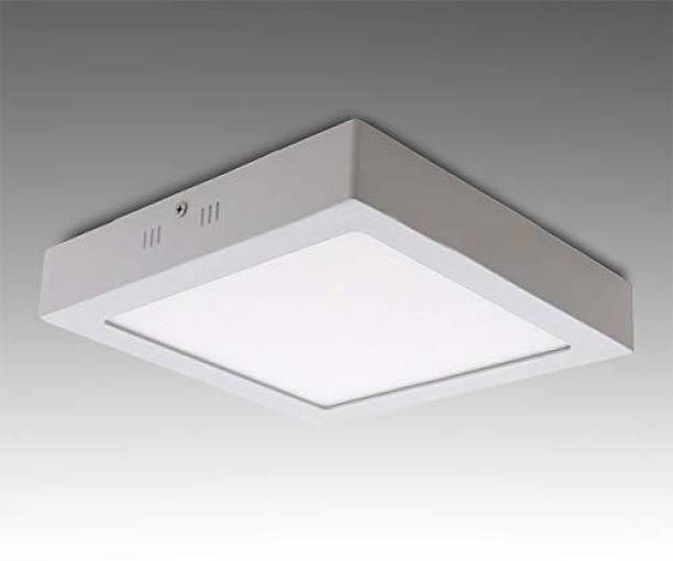 4fcafb44e3 D'Mak 22 Watt Square LED Surface Mounted Panel Light, Cool White Mounted  Panel