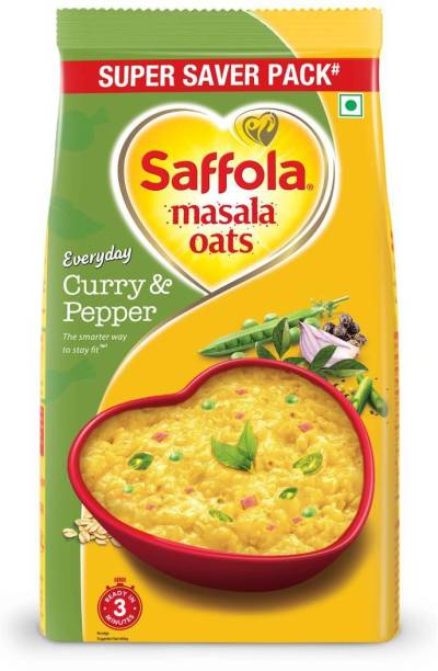 Saffola Curry and Pepper Masala Oats