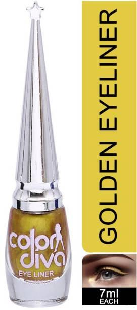 Color Diva Gold Eyeliner Pack of 1 7 ml
