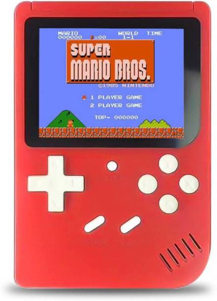 Blueseed SUP 400 in 1 Games Retro Game Box Console Handheld Game PAD Gamebox - Random Colour 8 GB with Mario, Super Mario, DR Mario, Contra, Turtles, and other 400 Games