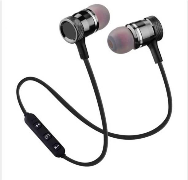 b4387f5b090 SHOPLINE Magnetic Stereo Earphone Headset Wireless/Bluetooth Jogger  Bluetooth Headset with Mic