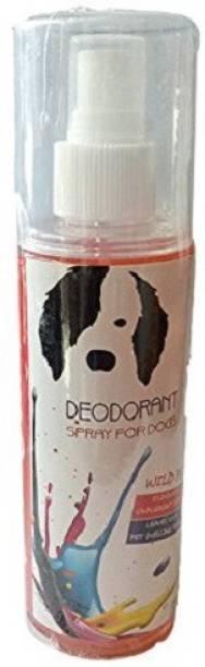"Bio Clean Deodorant Spray for Dogs & Puppies - "" Wild Pet"" herbal deodorant 200 Ml Deodorizer"