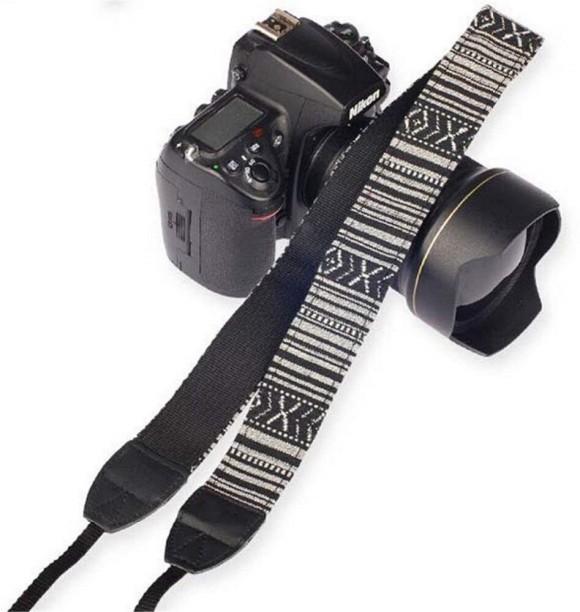Color : Black CAOMING Vintage Cotton Soft Hand Strap Grip Wrist Strap for DSLR//SLR Cameras Black Durable