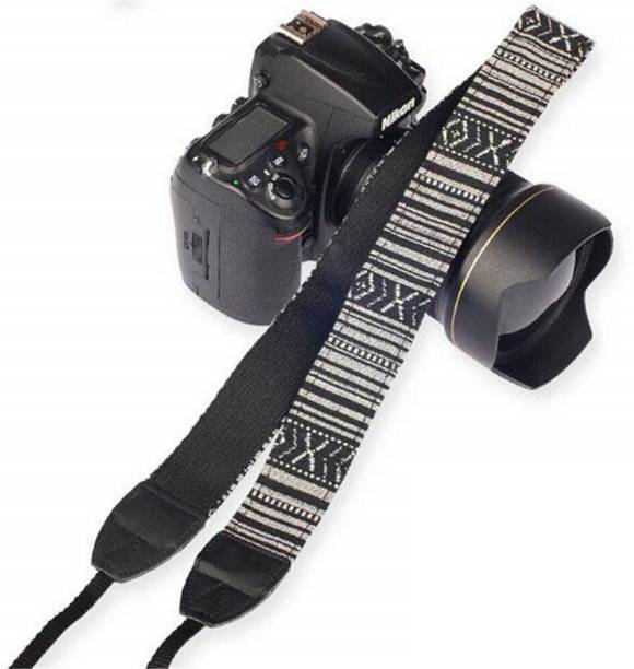 SYGA 1 Piece Black Coloured DSLR Camera Shoulder Strap Strap