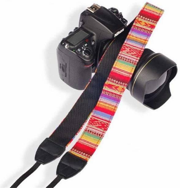 SYGA 1 Piece Red Coloured DSLR Camera Shoulder Strap Strap