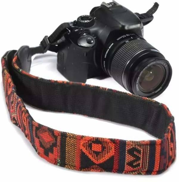 SYGA 1 Piece Orange Coloured DSLR Camera Shoulder Strap Strap