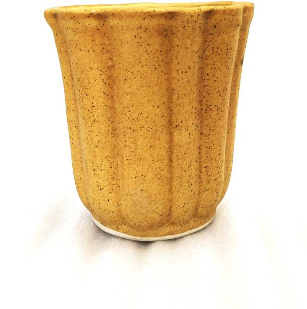 Metier Decorative Glossy Ceramic Planter Pot for Indoor Outdoor Decoration Ceramic Vase