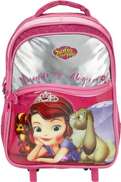 Genie Pink School Backpack School Bag