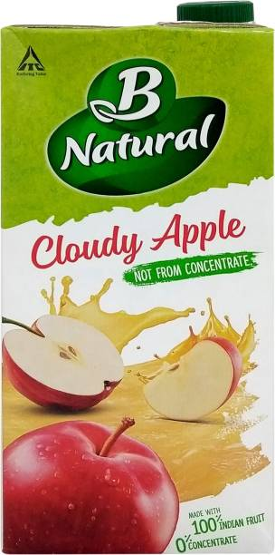 B Natural Cloudy Apple Juice