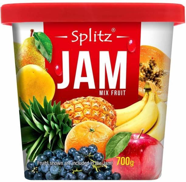 Splitz Mixed Fruit Jam 700 g