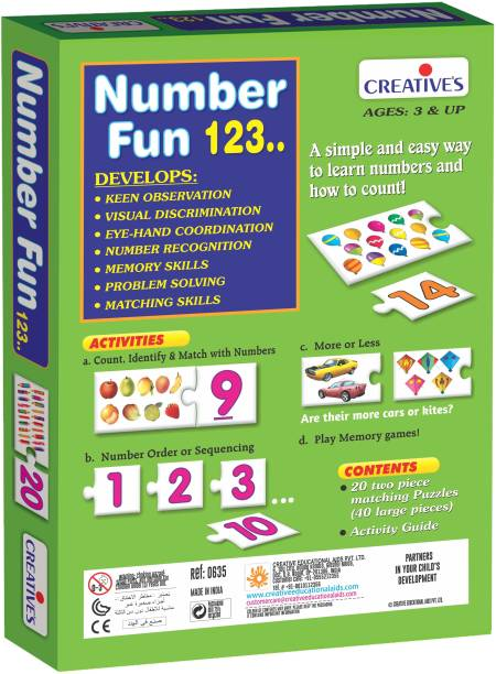 Creative Educational Aids Number Fun 123