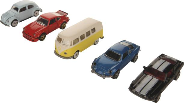 Majorette Vintage 5 Pieces Git Pack Car Set For Kids