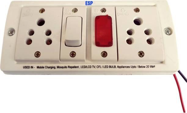 ESP 24V DC to 220V AC Converter for UPTO 20 W Load for Multiple Applications Worldwide Adaptor