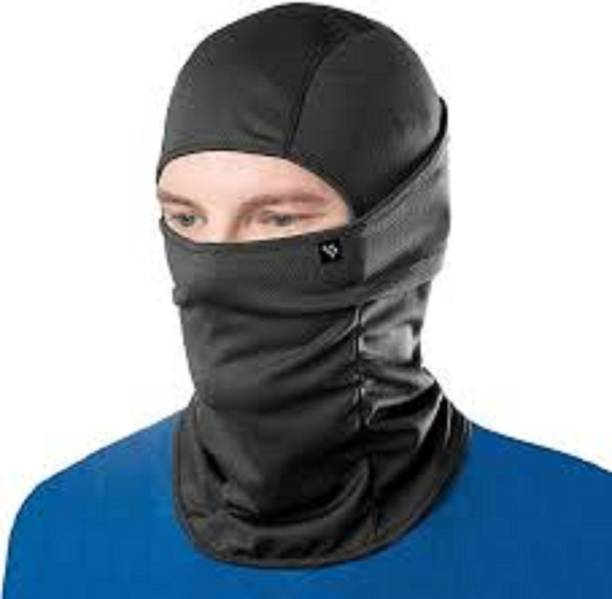 F1 Black Bike Face Mask for Men & Women