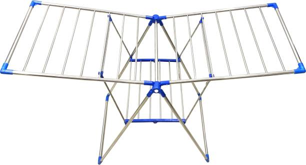 FAVOUR Steel Floor Cloth Dryer Stand N000BB4