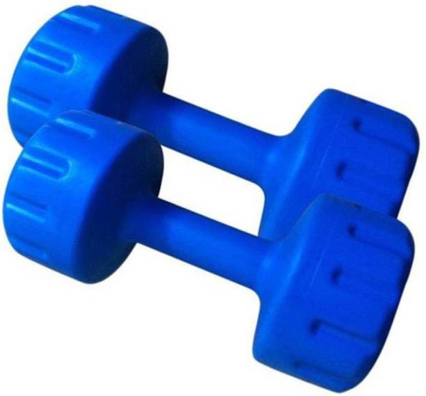 NATIONAL EXPORT HOUSE PURE PVC 2 KG DUMBBELL PACK OF PAIR , Fixed Weight Dumbbell