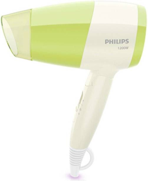 PHILIPS Essential Care BHC015/05 1200 W Green, White Hair Dryer