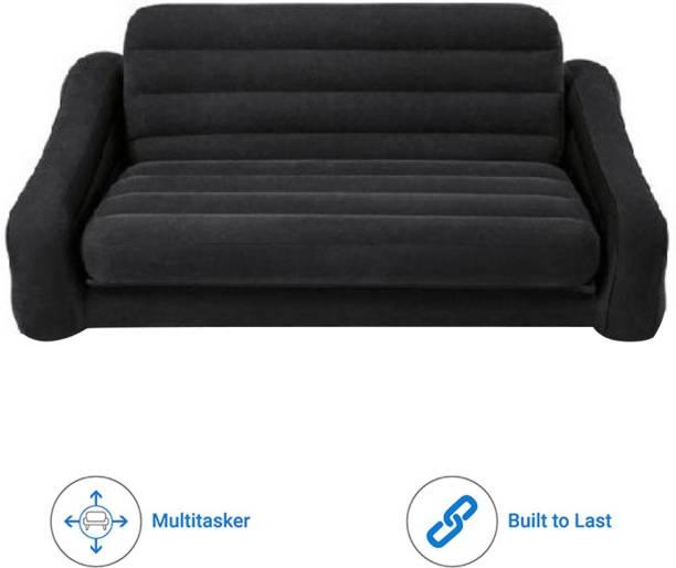 VW Intex INTEX Sofa cum Bed Premium Series PVC (Polyvinyl Chloride) 3 Seater Inflatable Sofa