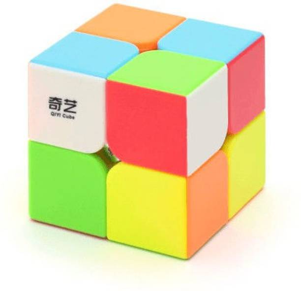 Cubelelo QiYi QiDi S 2x2 Stickerless Puzzle toy speed cube