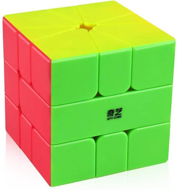 Cubelelo QiYi QiFa Square-1 Stickerless Puzzle toy speed cube