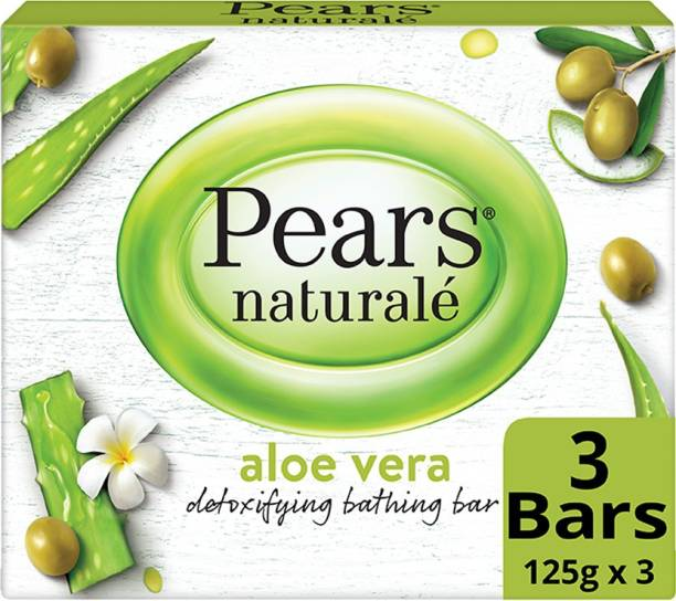 Pears Naturale Aloe Vera Detoxifying Bathing Bar