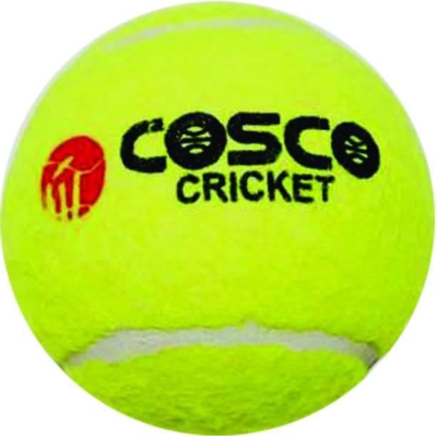 COSCO Light Weight Cricket Tennis Ball (Set of 2) Cricket Tennis Ball