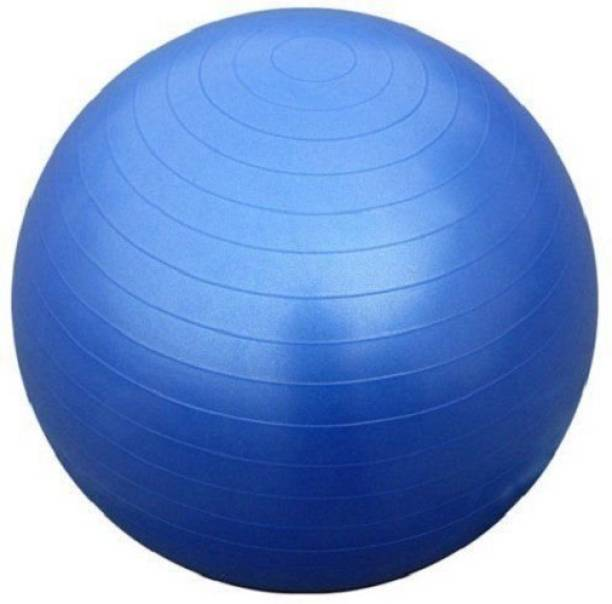 Dayalu Anti Burst Gym Ball Body Exercise Workout 75 CM with Foot Pump Gym Ball