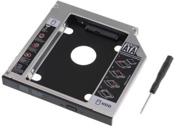 Etake 9.5mm Universal 2nd Hard Drive Bracket Caddy For CD/DVD-ROM Laptop, Notebook Hard Drive 2nd Caddy Internal Optical Drive