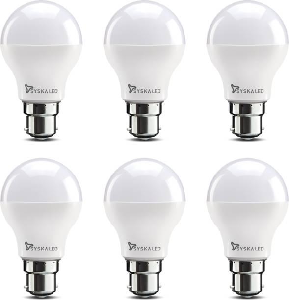 Syska 7 W Standard B22 LED Bulb