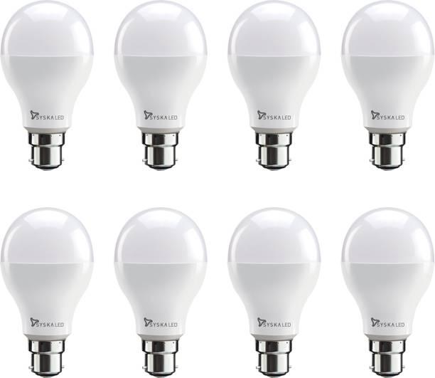 Syska 9 W, 12 W Standard B22 LED Bulb