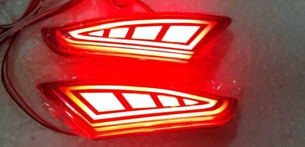 CARMART XUV 500 Rear Bumper Led Reflector Normal and Brake both Car Reflector Light