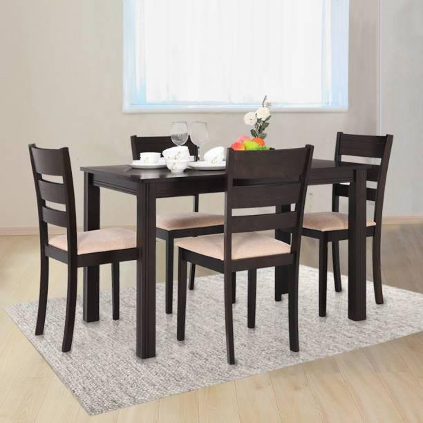 RoyalOak Palma Solid Wood 4 Seater Dining Set