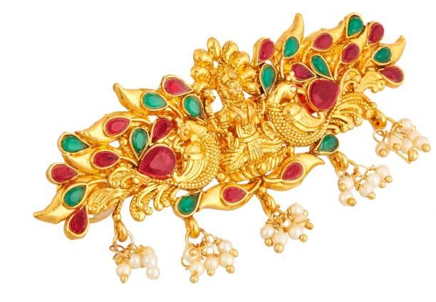 APARA Traditional Laxmi Temple Jewellery Hair Clip Accessories For Women / Girls Hair Clip