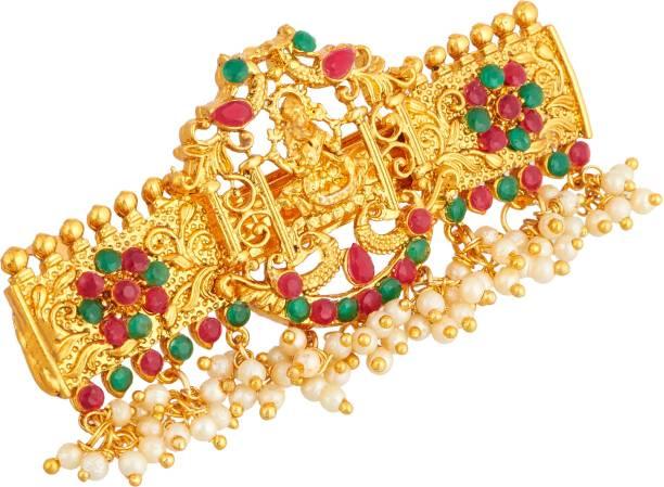 APARA Traditional Hair Accessories Hair Clip Pearl Drop Jewellery For Women / Girls Bun Clip
