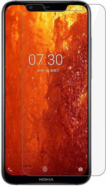 CHAMBU Edge To Edge Tempered Glass for Nokia X71