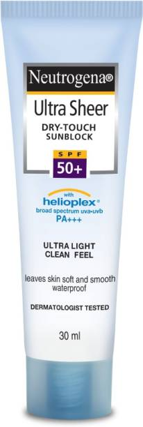 NEUTROGENA Ultra Sheer Sunblock Cream - SPF 50 PA+++