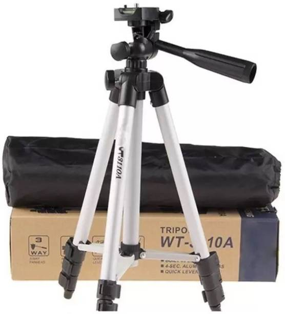 LUKECAGE High Quality Tripod Stand 360 Degree 3110 for Portable Digital Camera DSLR with Mobile tik tok Stand Holder Tripod