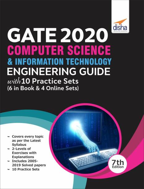 GATE 2020 Computer Science & Information Technology Guide with 10 Practice Sets (6 in Book + 4 Online) 7th edition