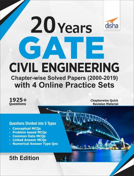 20 Years Gate Civil Engineering Chapter-Wise Solved Papers