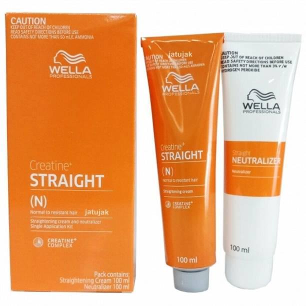 Wella Professionals Straightening Cream And Neutralizer
