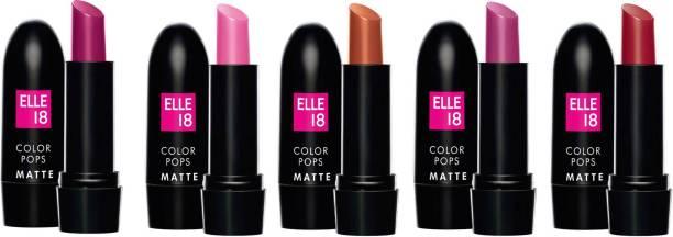 ELLE 18 Color Cops Matte Lip Colors