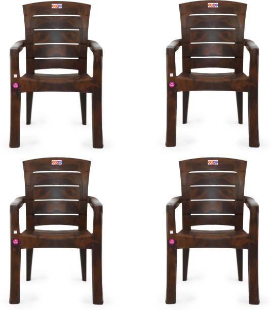 AVRO furniture 9955 MATT CHAIR (Set Of 4 Chairs) Plastic Outdoor Chair