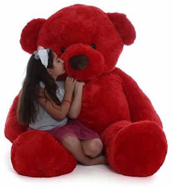 Ziraat RED Color 3 Feet Teddy Bear Soft And Cute R 210  - 90 cm