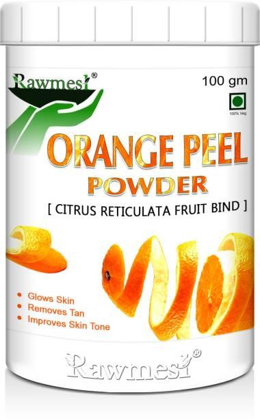 Rawmest 100% Organic Orange Peel For Skin Care