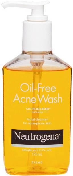NEUTROGENA NEW OIL-FREE ACNE WASH Face Wash