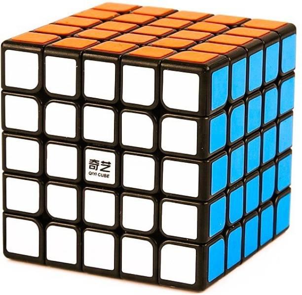 D ETERNAL Cube QiYi QiZheng 5x5 High Speed Magic Cube 5x5x5 Puzzle Toys