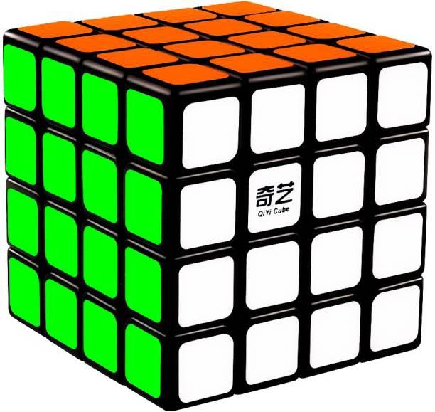 D ETERNAL Cube 4x4x4 QIYI QUIAN Cube 4x4 High Speed Magic Puzzle Cube