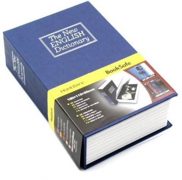 Toyvala Home Security Dictionary Book Safe Storage Key Lock Box SMALL Safe Locker